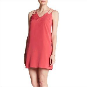 NWT CeCe Dusty Rose Strappy Mini Dress